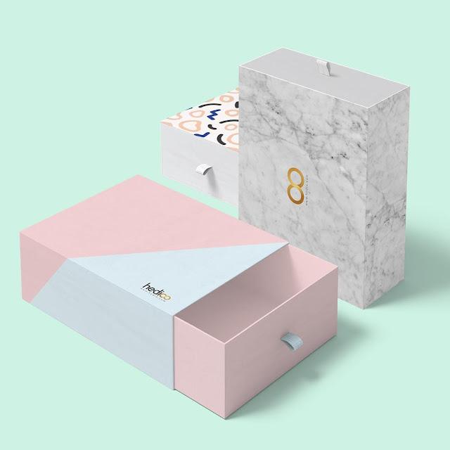 desain produk kotak yang menarik