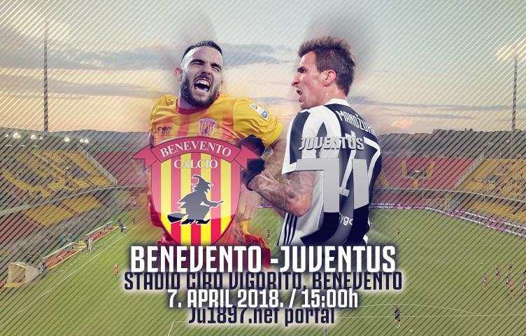 Serie A 2017/18 / 31. kolo / Benevento - Juventus, subota, 15:00h