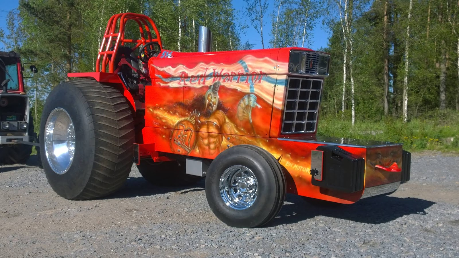 Ih Super Stock Pulling : Tractor pulling news pullingworld red warrior sold