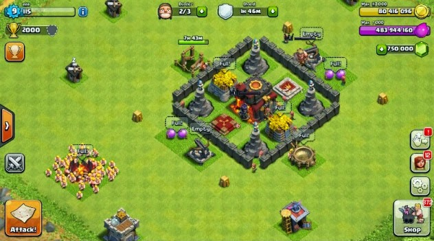 Topic: clash of clans christmas version hack apk download (1