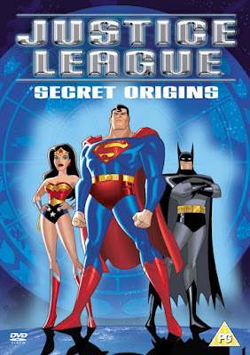 Justice League Vol 1 Secret Origins DVD R2 PAL Latino