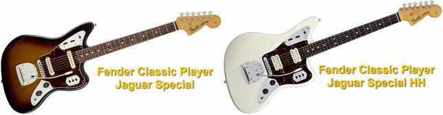 Fender Classic Player Jaguar Special SS Vs HH