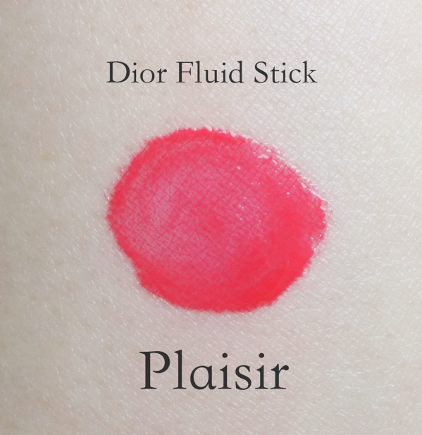 Dior Addict Fluid Stick Plaisir swatch