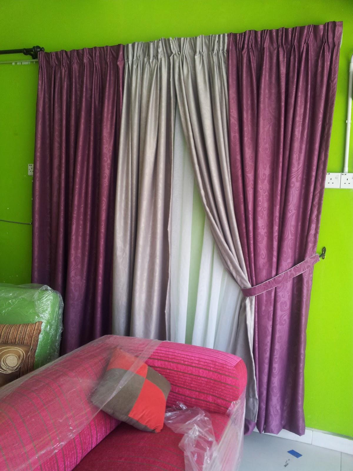 Anak Mama Manja Langsir Ruang Tamu Apa Itu Feature Wall Baiti Jannati Deco