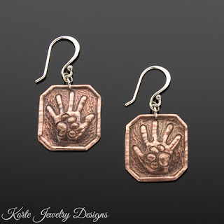 Hand and Paw Earrings