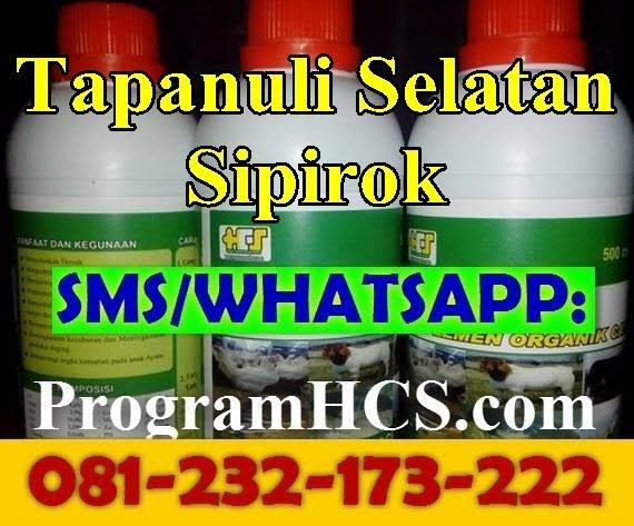 Jual SOC HCS Tapanuli Selatan Sipirok