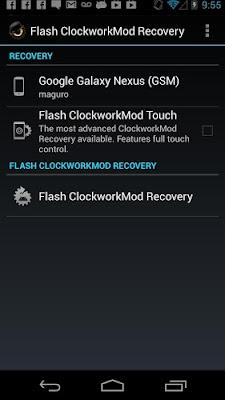 ROM Manager Premium Android
