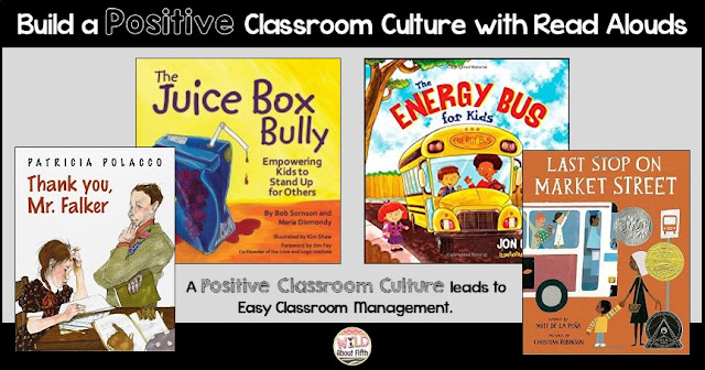 positive classroom culture read alouds