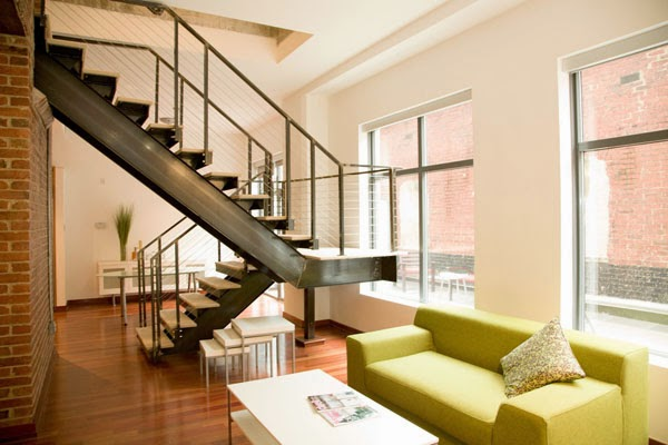 Living Room Design With Stairs: Panduan Rekabentuk Kediaman: Rekabentuk Tangga Sebagai