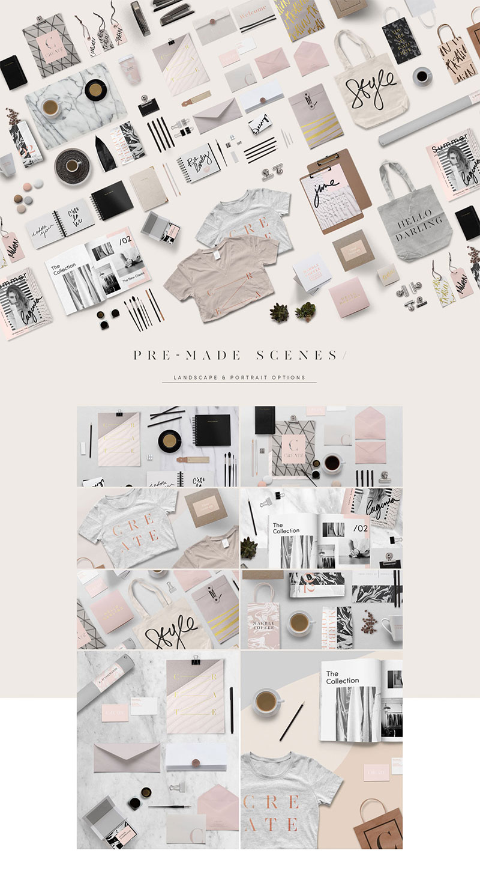 Custom Branding Creator- 100+ Items