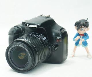 Kamera Bekas - Canon Kiss X50