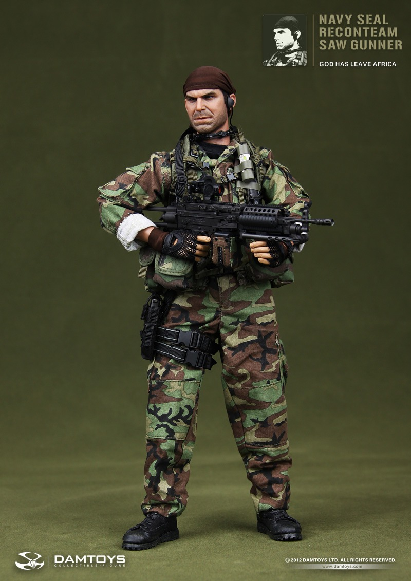 toyhaven: Preview DAM Toys 1/6 scale US Navy SEAL Recon ...Tears Of The Sun Team
