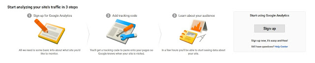 How to add Google Analytics to a blogger blog