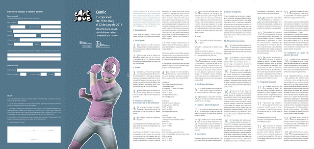 Bases convocatoria Art Jove de Cómic