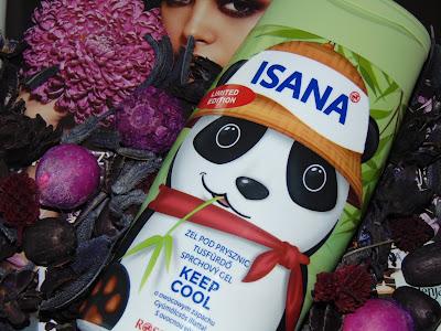 Isana, żel pod prysznic Keep Cool