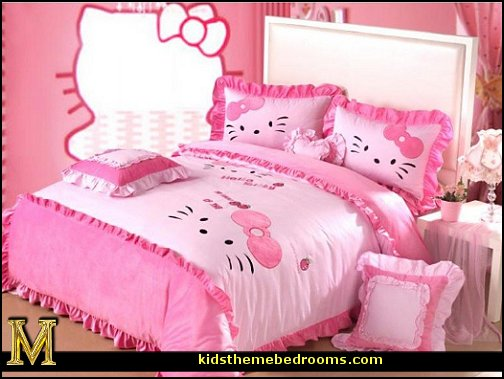 Decorating Theme Bedrooms Maries Manor Hello Kitty Bedroom Ideas Hello Kitty Bedroom Decor