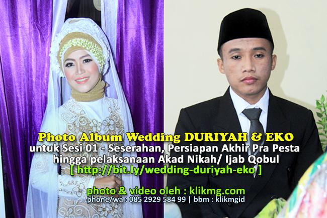 Wedding Duriyah Eko