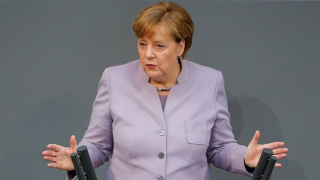 Brexit: Chancellor Merkel warns UK on scope of talks with EU