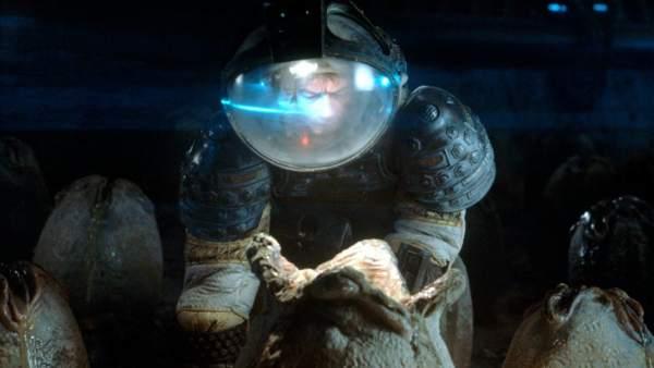 John Hurt en una de las famosas escenas de 'Alien' (1979)