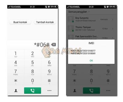 Cara Melacak / Menemukan HP Android yang hilang / dicuri Menggunakan Nomor IMEI,