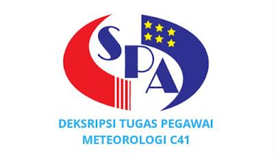 Gaji, Kelayakan & Tugas Pegawai Meteorologi Gred C41
