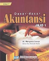 DASAR-DASAR AKUNTANSI Jilid 1 Pengarang AlHaryono Jusup Penerbit STIE YKPN Yogyakarta