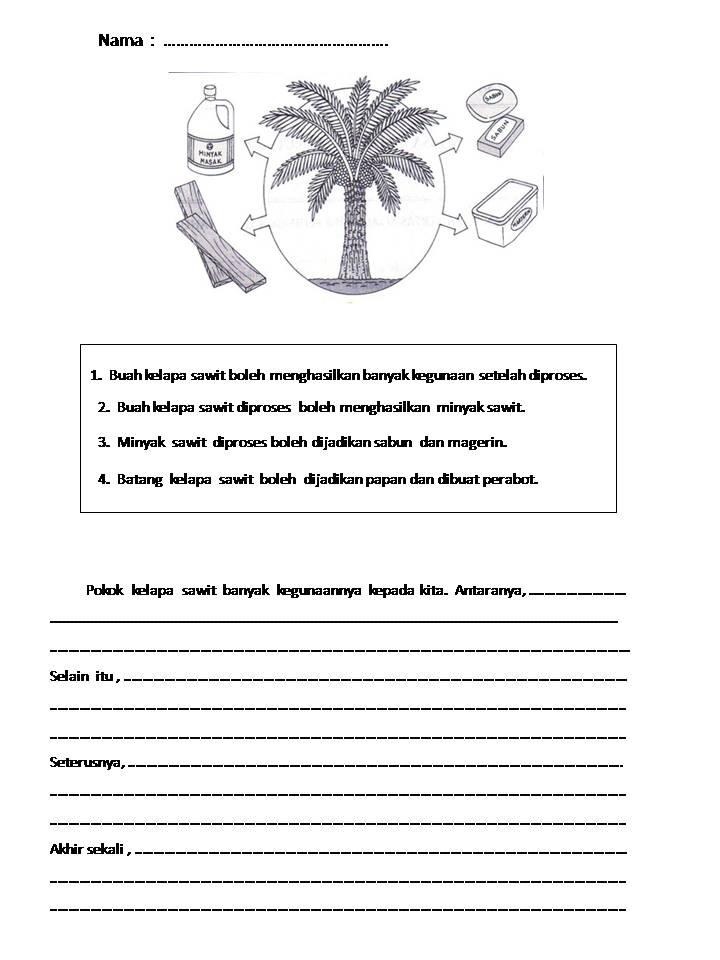 Bicara kehidupan: Soalan Ulasan Bahasa Melayu Tahun 3