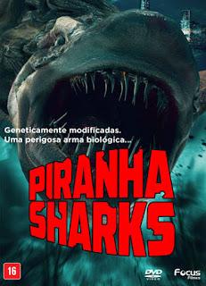 Piranha Sharks - DVDRip Dual Áudio