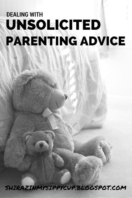 Dealing With Unsolicited Parenting Advice. #parenting #motherhood #parentingadvice