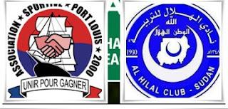 الهلال السودانى يتعادل مع بورت لويس الموريشيس 2-2 ويصعد الى دور الستة عشر فى دوري ابطال افريقيا