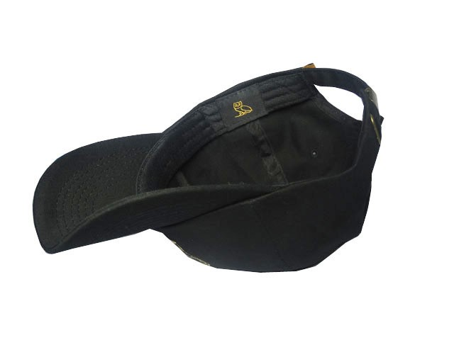 23b2e5a6b85 Drake OVO October s Very Own Apparel   Drake OVO Black Strapback Hat ...