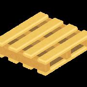 木製パレットのイラスト(荷台)
