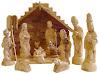 Deluxe Olive Wood Nativity Set