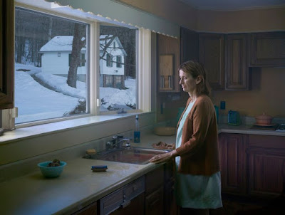 Gregory Crewdson, Woman at Sink, Cathedral of the Pines Series, 2014
