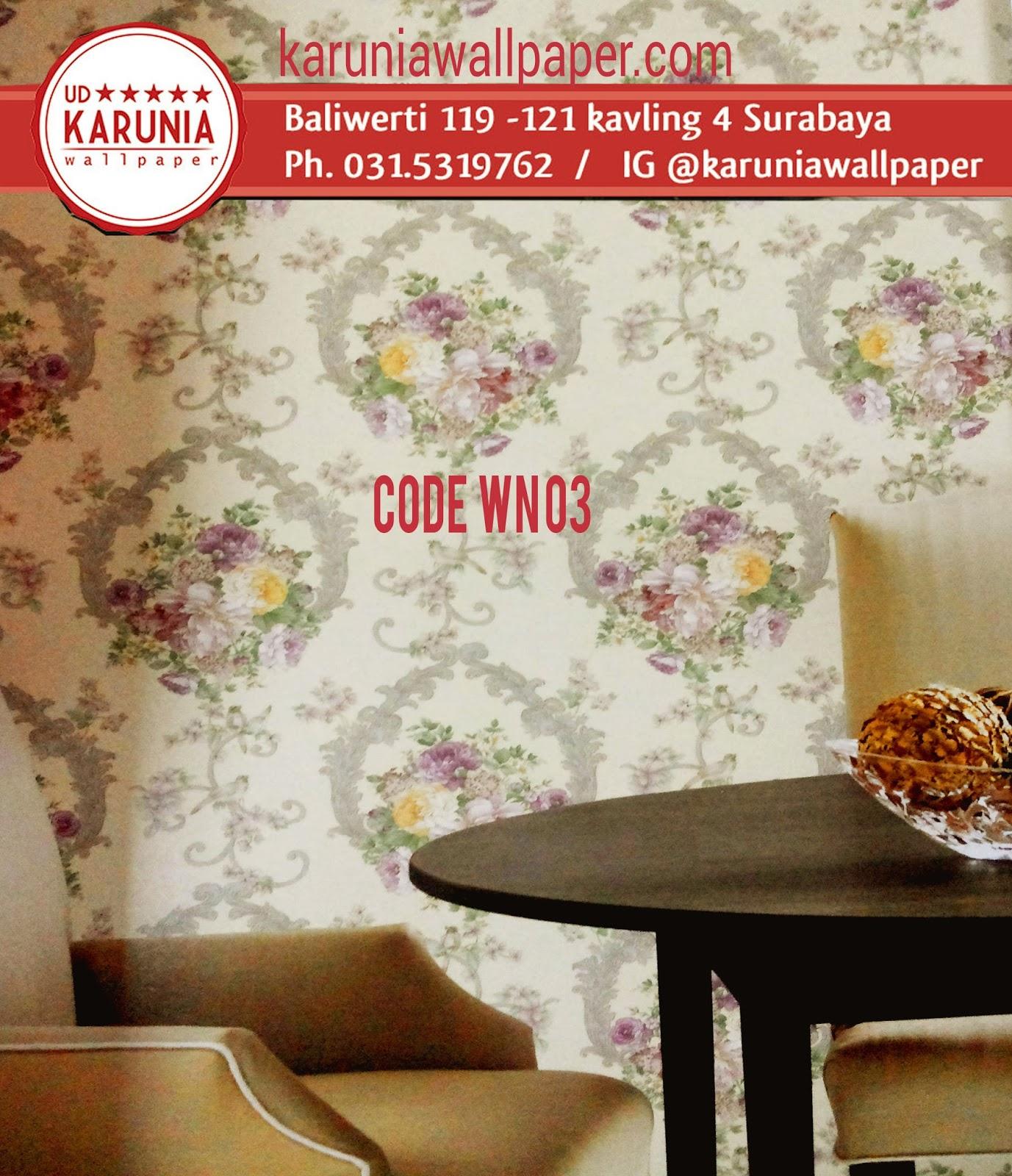 jual wallpaper dekorasi rumah bagus surabaya