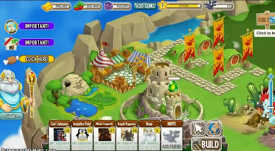Screenshot: Dragon City for Android