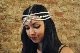 gold tikka headpiece in Austria