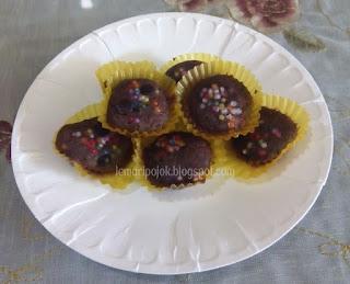Bolu kering coklat/brownies kering cookies mudah dan murah untuk lebaran