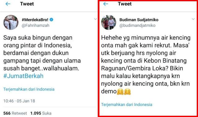 """Tanggapan Fahri Untuk Politisi PDIP """"Bro, Apa Salahnya Kencing Unta?"""""""