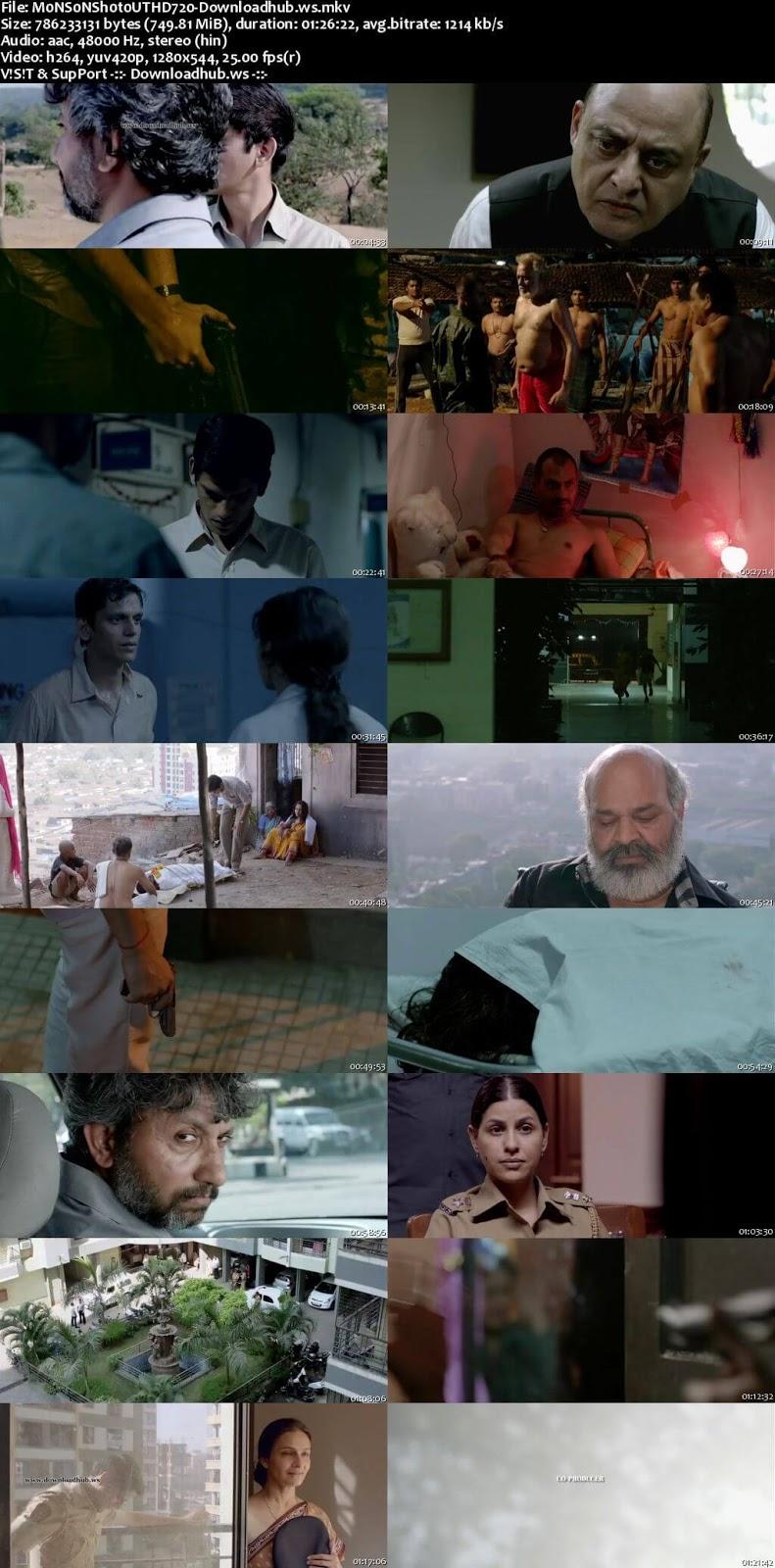 Monsoon Shootout 2018 Hindi 720p HDRip