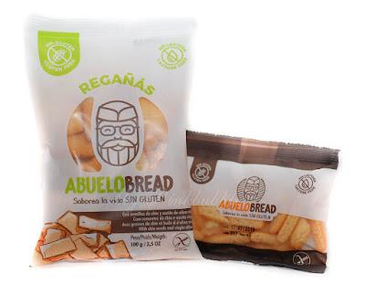 Abuelo Bread Regañás sin gluten