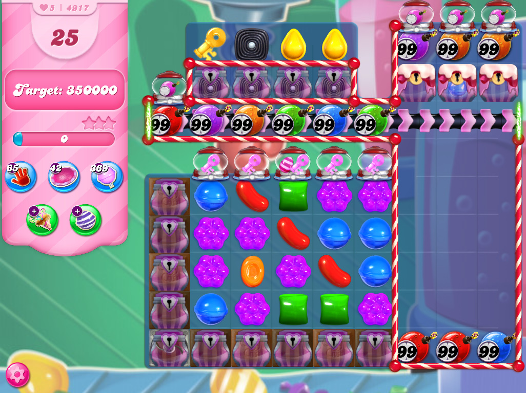 Candy Crush Saga level 4917