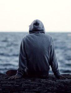 sad alone boy profile pic