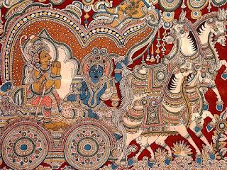 Kalamkari Hand Painting