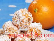 بسكويت البرتقال