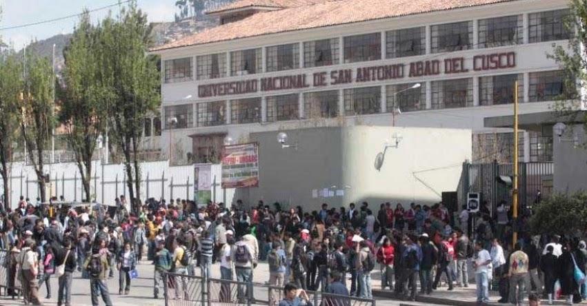 UNSAAC publicó lista de ingresantes Examen Admisión 2018-1 (Resultados 08 Abril) Universidad Nacional de San Antonio Abad del Cusco - www.unsaac.edu.pe