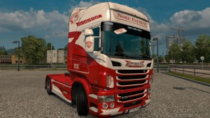 Nord Express Skin for Scania RJL