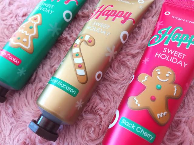 Trio pour les mains Happy Sweet Holiday de Tonymoly