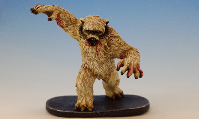 Wampa, FFG Imperial Assault (2015, sculpted by B. Maillet)