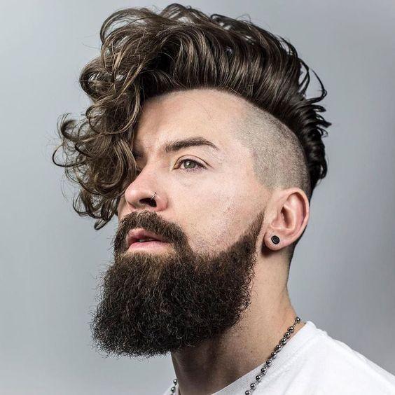 cortes de cabelo masculino ondulados e cacheados franja (3)
